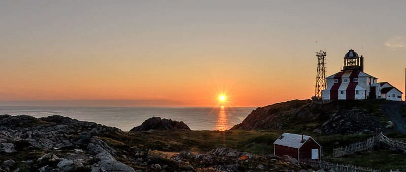Cape Bonavista Lighthouse - Best Newfoundland Photo Workshop with Jeff Wendorff