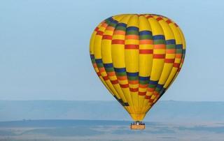 hot air balloon masai mara