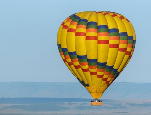 Masai Mara Hot Air Balloon Safari