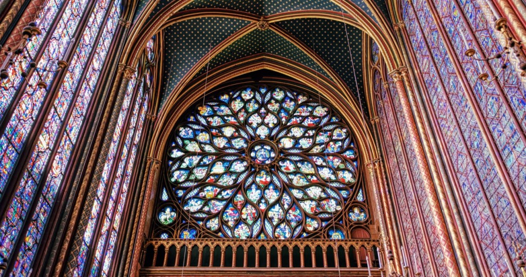 Sainte-Chapelle Rose window in the King's Chapel - Paris Street Photography Workshop