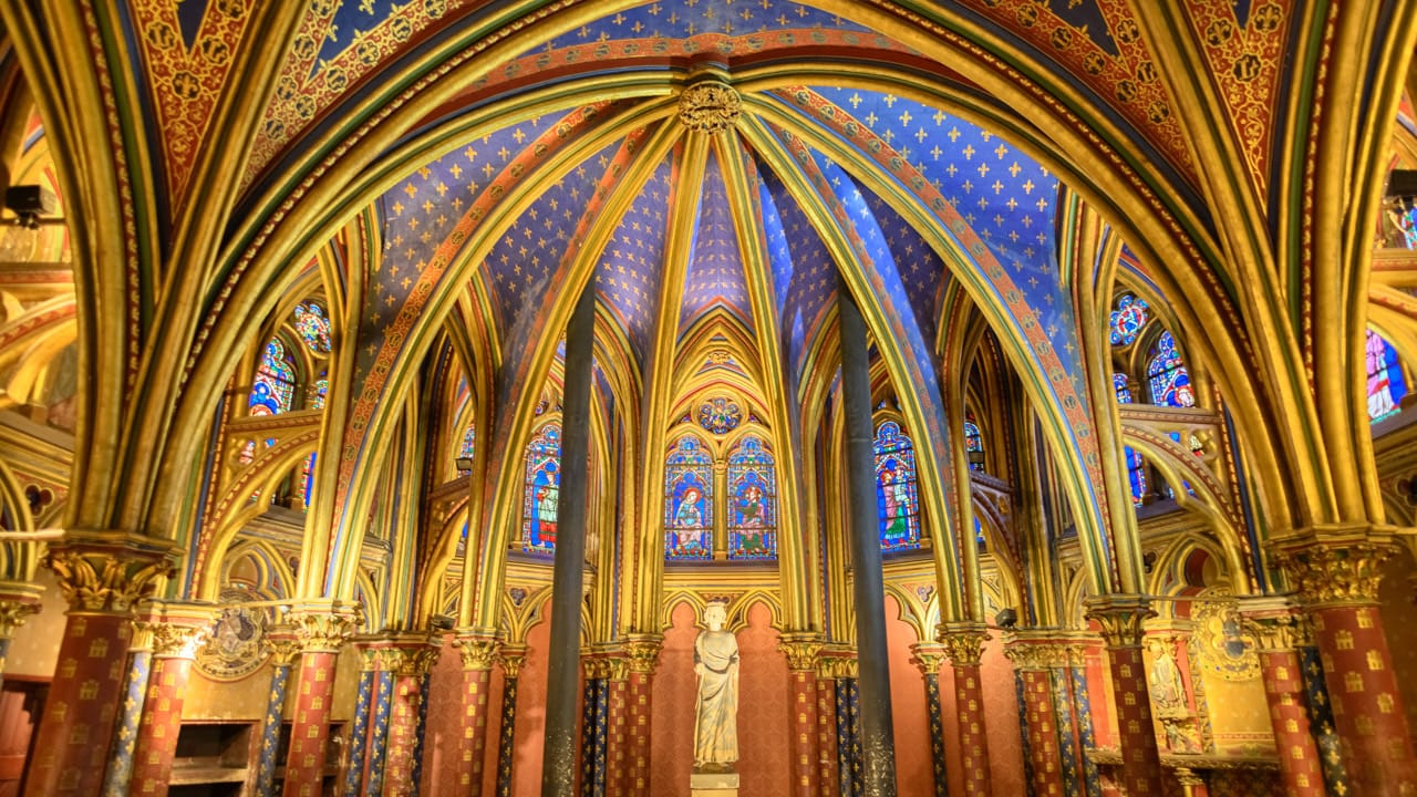 Sainte Chappelle Lower Chapel