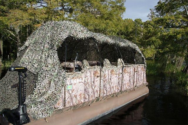 Osprey Photography Pontoon Boat