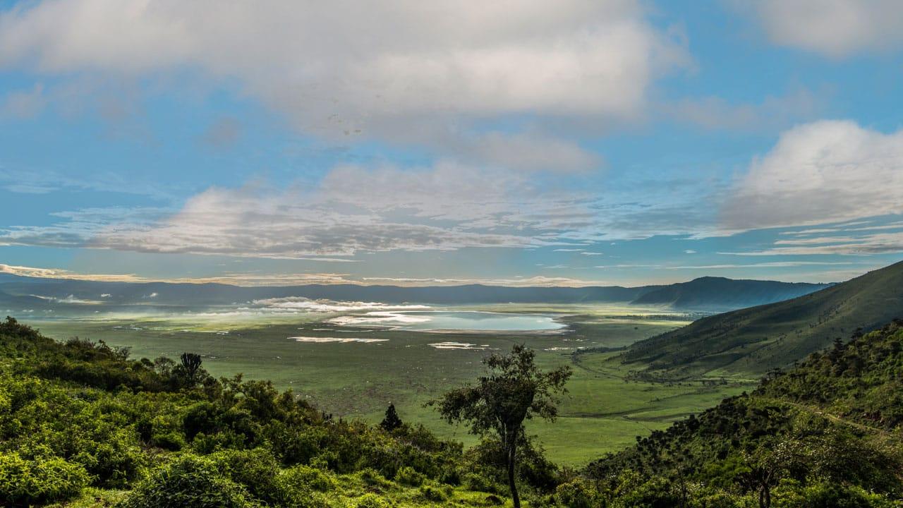 Ngorongogo Crater - Best Tanzania Great Migration Photo Safari