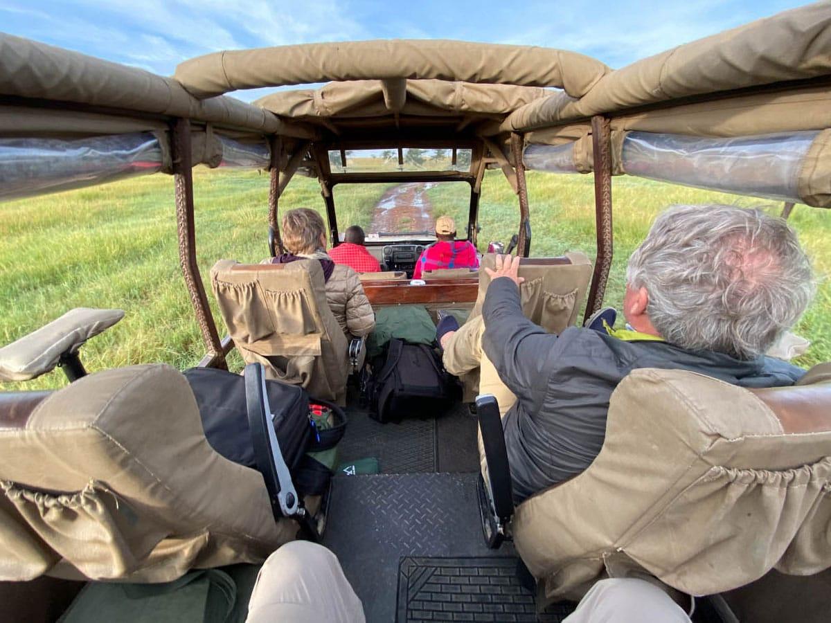 Your Own Row on a Wildlife Workshops Safari