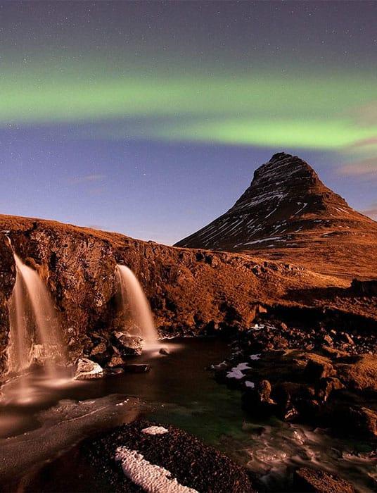 Waterfalls Northern Lights Best Iceland Photography Workshop